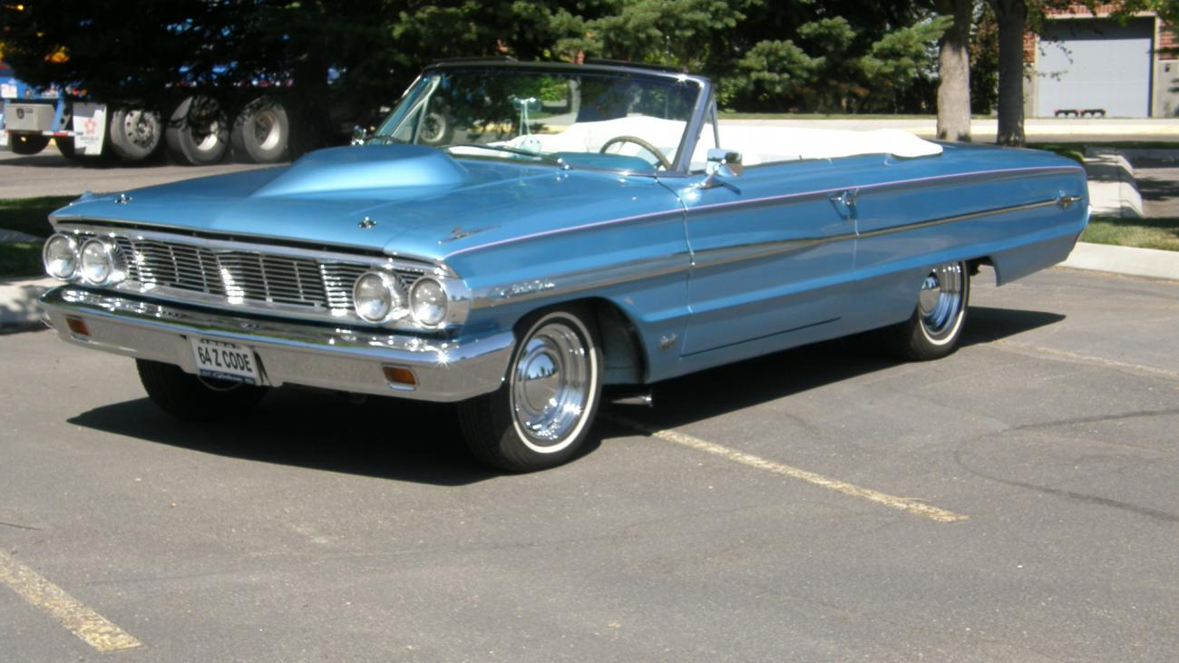 1964 Ford Galaxie Convertible Top Parts Is Your Car Ltd 500 For Sale Hotrodhotline