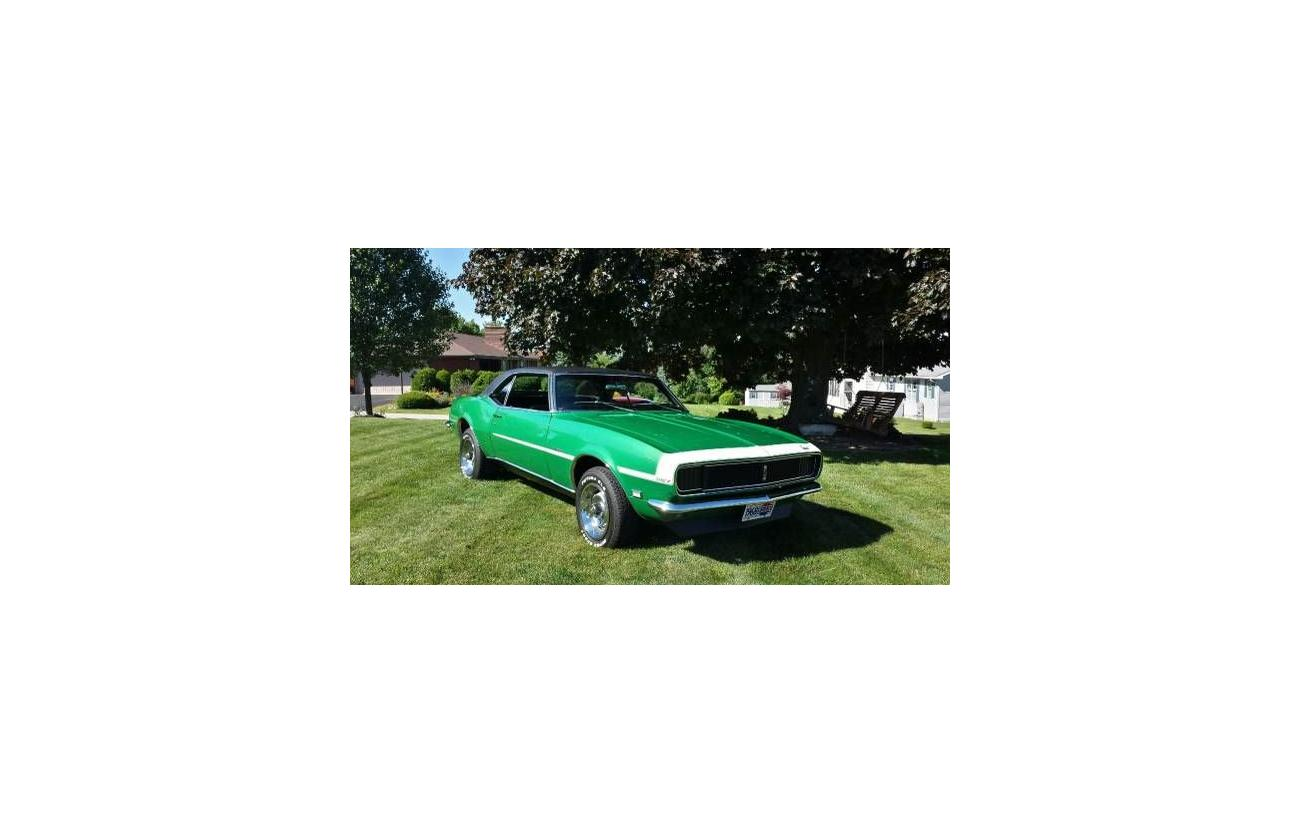 1968 Chevrolet Camaro For Sale Hotrodhotline Rs 327 Image Description