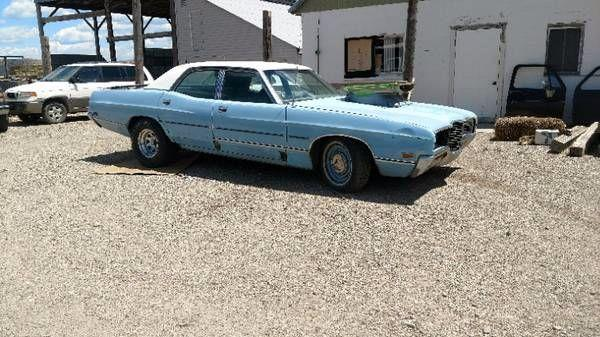 1971 Ford Galaxie 500 For Sale Hotrodhotline