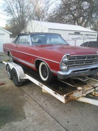 1967 Ford Galaxie 500 For Sale Hotrodhotline