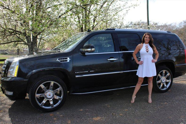 2012 Cadillac Escalade Esv For Sale Hotrodhotline