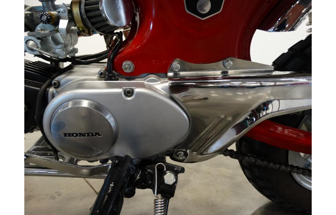 1970 Honda Ct70 For Sale Hotrodhotline Fuel Tank Image Description