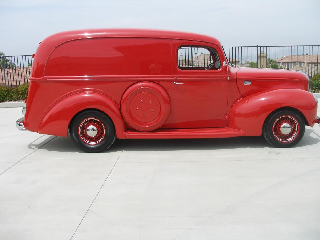 1941 Ford Panel All-Steel Panel Truck for sale in CORONA, CA - $39,500