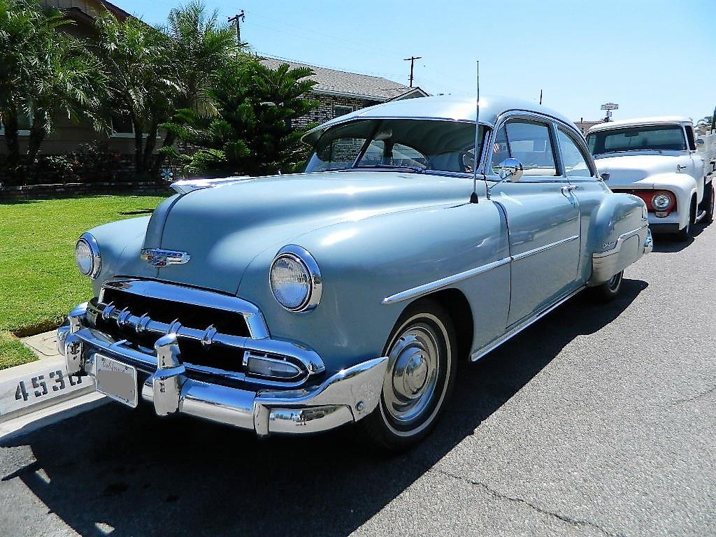 1952 Chevrolet Sedan Original Sedan For Sale Hotrodhotline