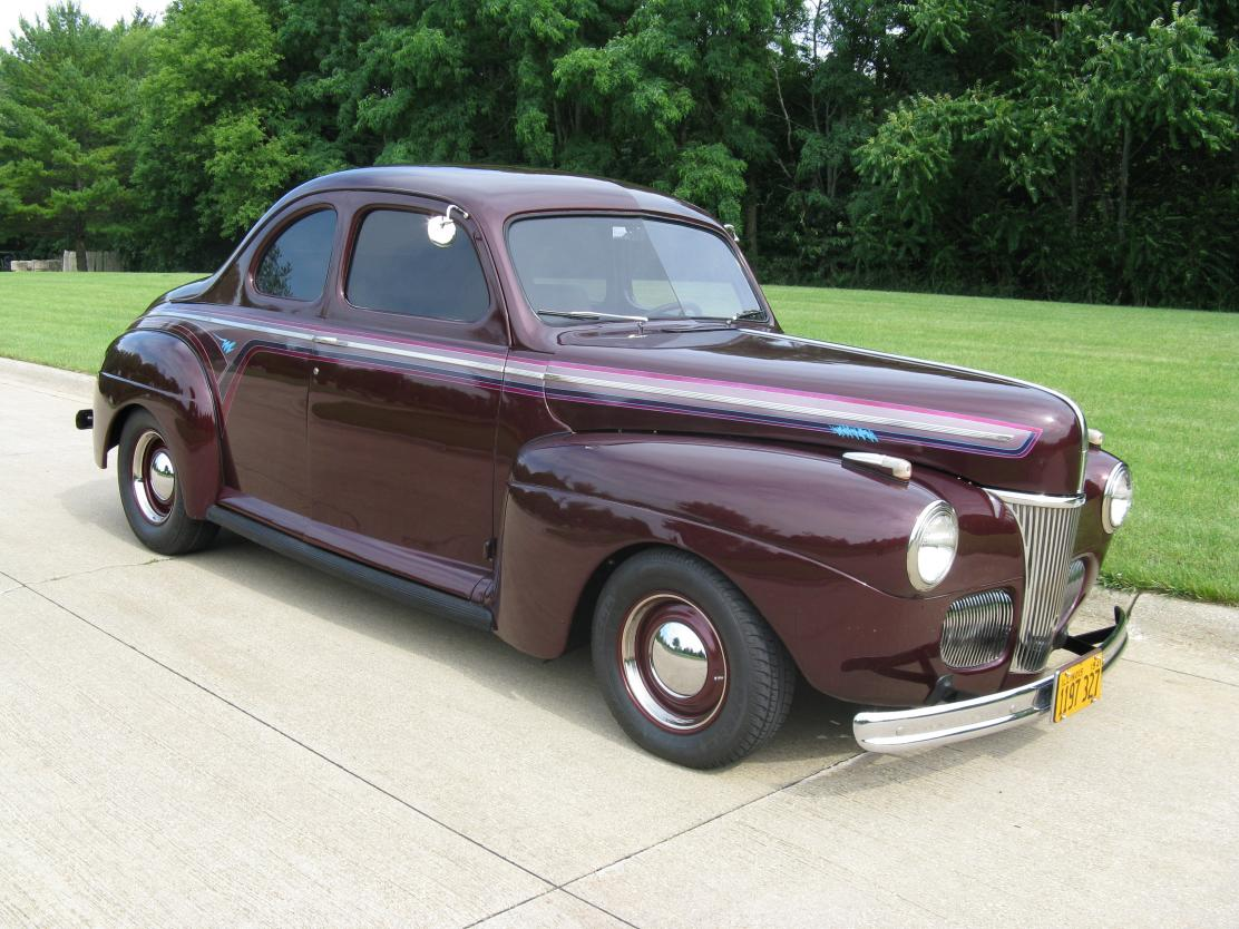 1941 Ford Business Coupe For Sale Hotrodhotline Plymouth Image Description