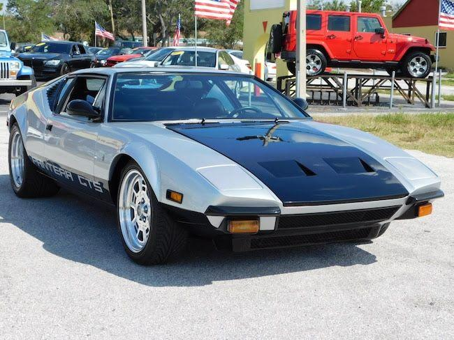 Ford Pantera For Sale >> 1974 Detomaso Pantera For Sale In Call For Location Mi 199 995
