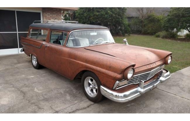 1957 Ford Ranch Wagon for sale in Cadillac, MI - $21,495