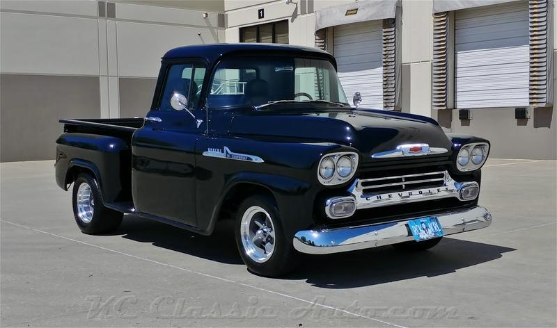 1958 Chevrolet Apache All-Steel Pickup Restored Truck for ...