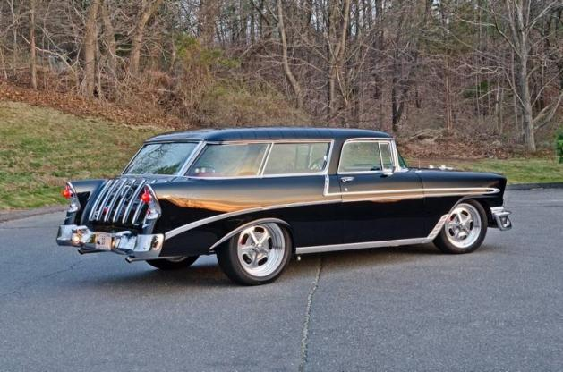 1956 Chevrolet Nomad All Steel Original Restored Small Block V8 Station Wagon Tri Five Wagon For Sale In Elkhart In 110 000