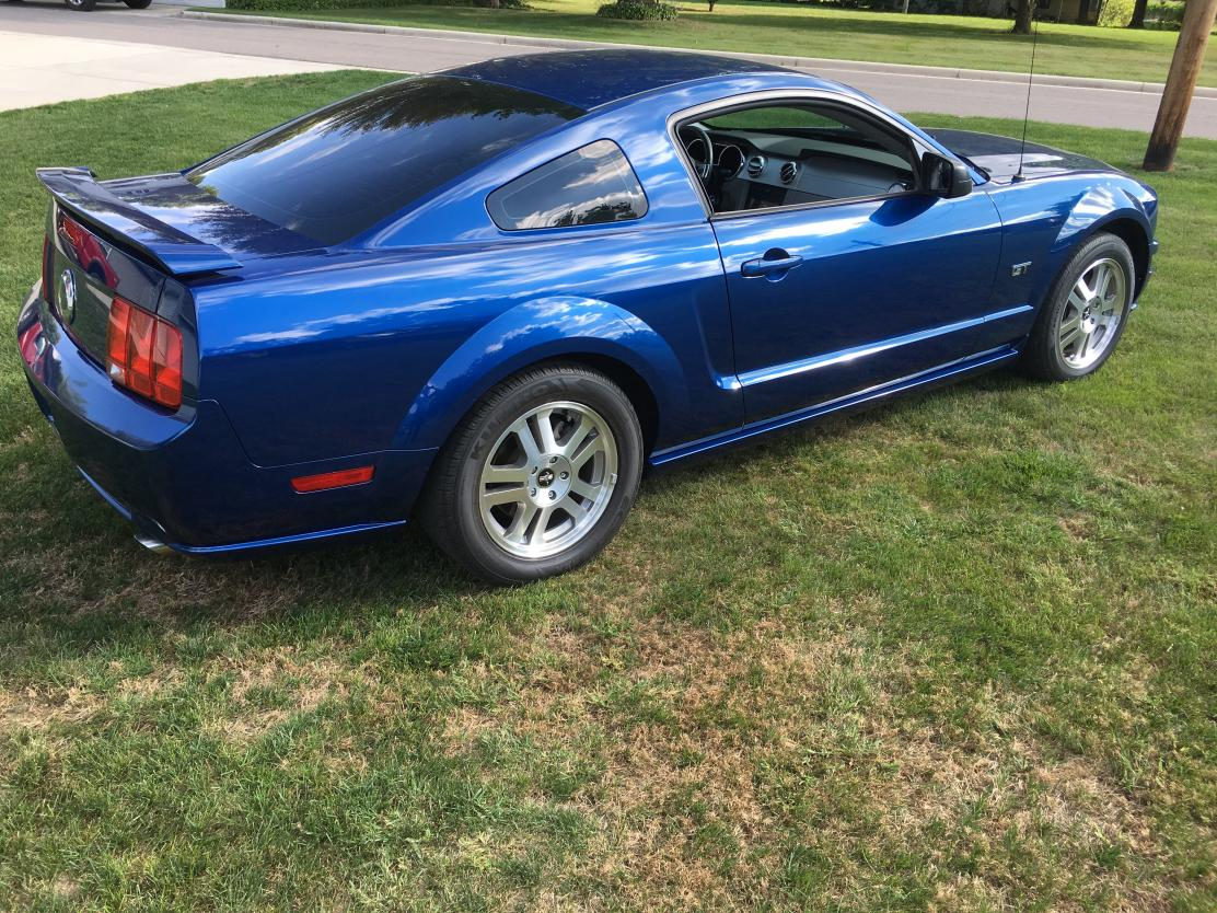 2006 ford mustang all steel coupe original for sale in elkhart in 13500
