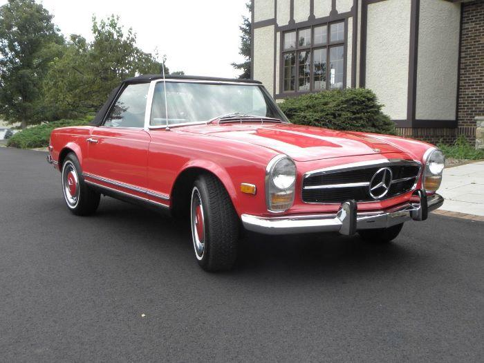 1969 Mercedes Benz 280sl For Sale In Call For Location Mi 77 495