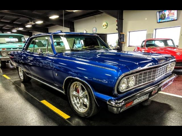 1964 Chevrolet Malibu Coupe Restored Small Block V8 Engine Swap For