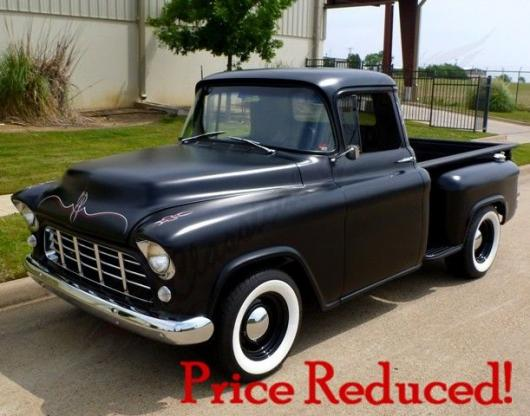 1955 chevrolet pickup for sale hotrodhotline. Black Bedroom Furniture Sets. Home Design Ideas
