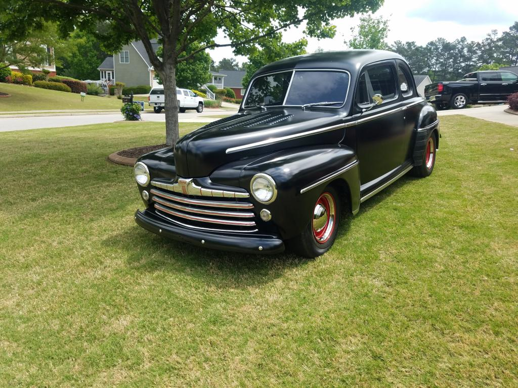 1947 Ford Coupe 2 Door All Steel Barn Find Coupe For Sale