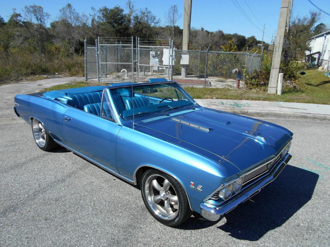 1966 Chevrolet Chevelle All Steel Convertible Restored For Sale Ss 396 Image Description