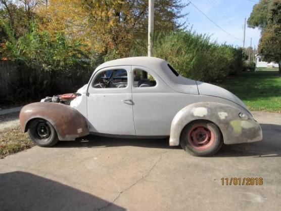 1940 Ford Coupe For Sale Hotrodhotline