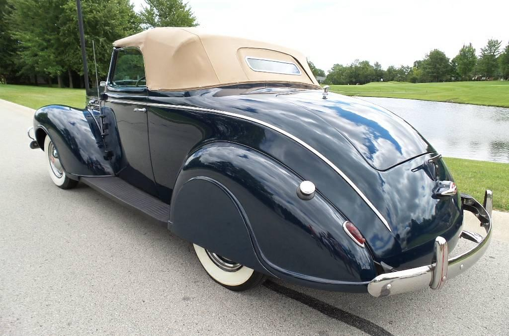 1939 Plymouth Convertible All-Steel Convertible flathead 6 Original  Restored Stock Mopar 2-door coupe with rumble seat for sale in ELKHART, IN  -