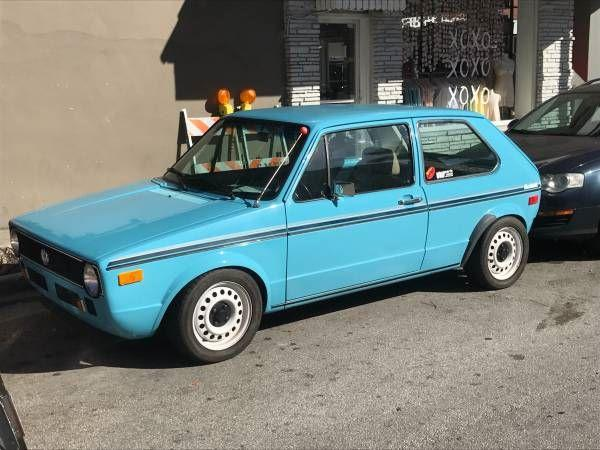 1977 Volkswagen Rabbit For Sale Hotrodhotline