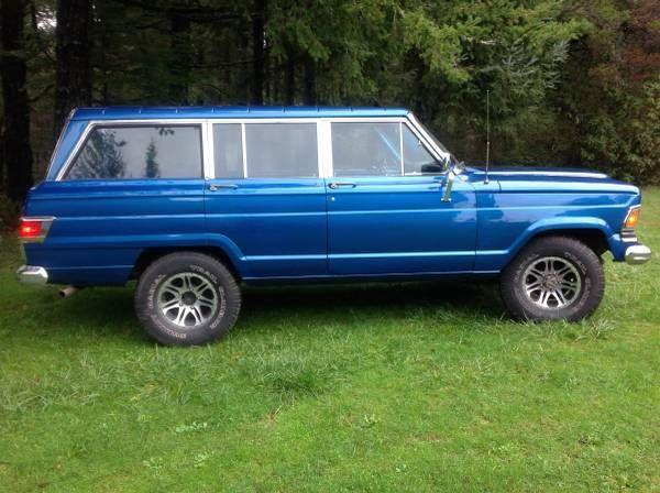 Jeep Wagoneer For Sale >> 1972 Jeep Wagoneer For Sale Hotrodhotline