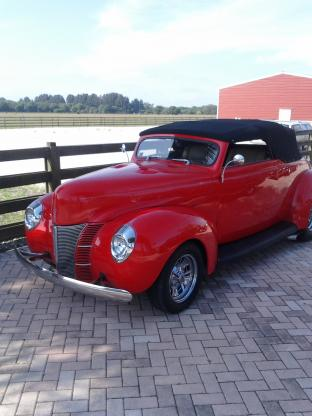 1940 Ford Convertible Chopped Convertible Restored Engine Swap for sale in  ARCADIA, FL - $65,000