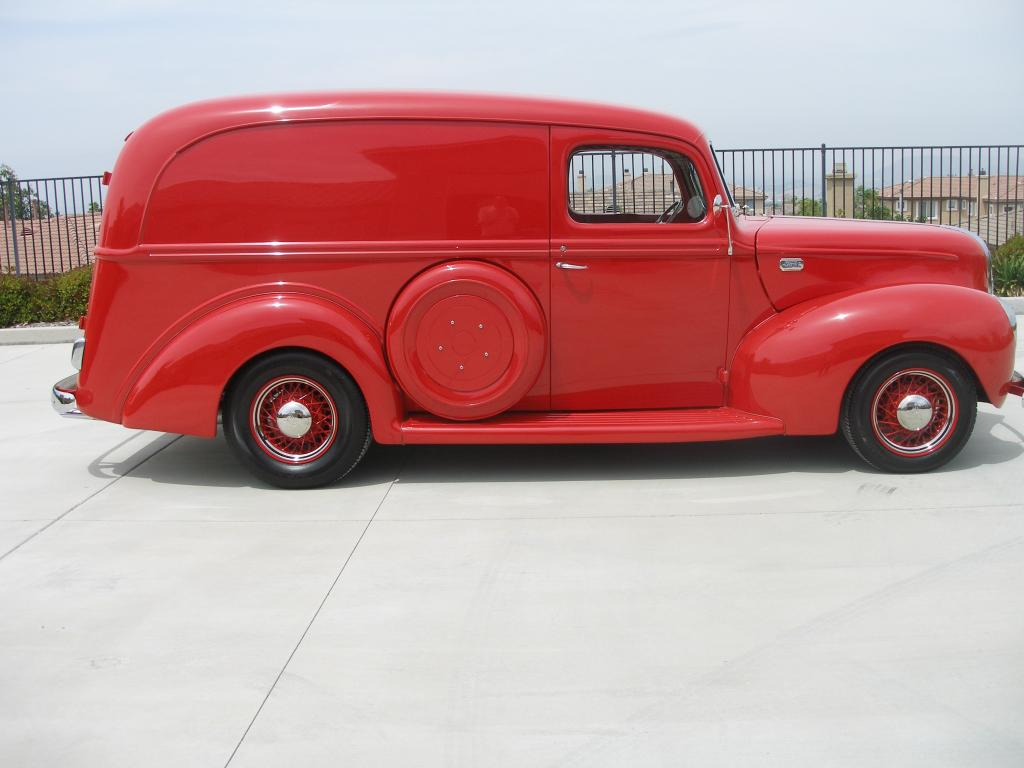 1941 Ford Panel All Steel Panel Truck For Sale In Corona Ca 39 500