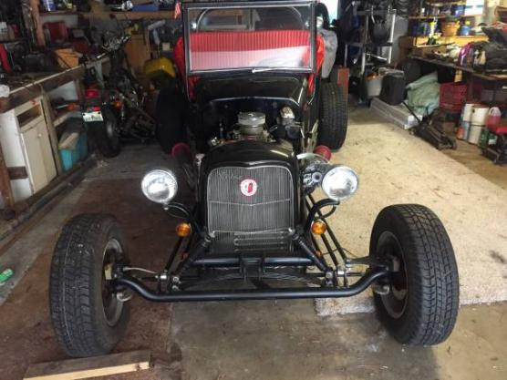1923 Ford Model T Convertible Restored T-Bucket Engine Swap for sale ...