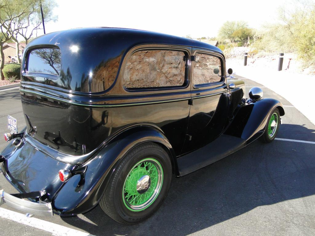 1934 ford deluxe 2 door all steel flathead flathead v8 for 1934 ford two door sedan