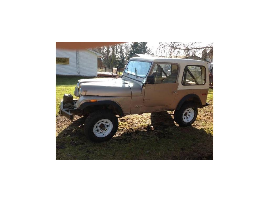 1977 Jeep Cj7 For Sale