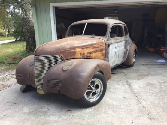 1939 Chevrolet Coupe For Sale Hotrodhotline