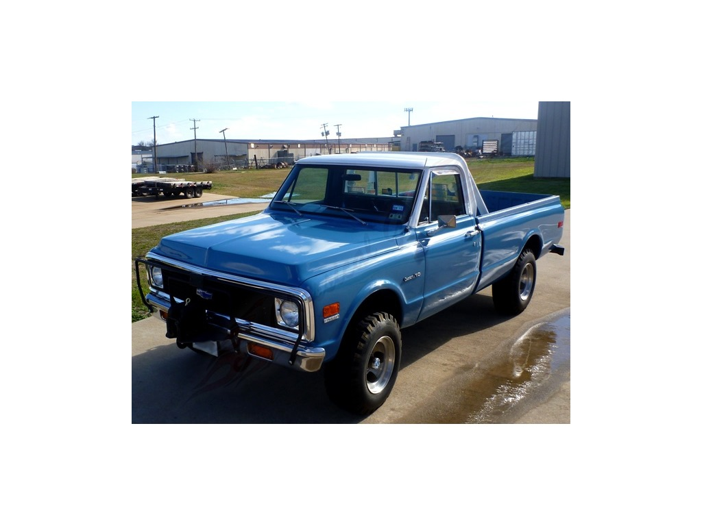 1972 chevrolet c10 pickup pickup small block v8 truck for sale hotrodhotline. Black Bedroom Furniture Sets. Home Design Ideas