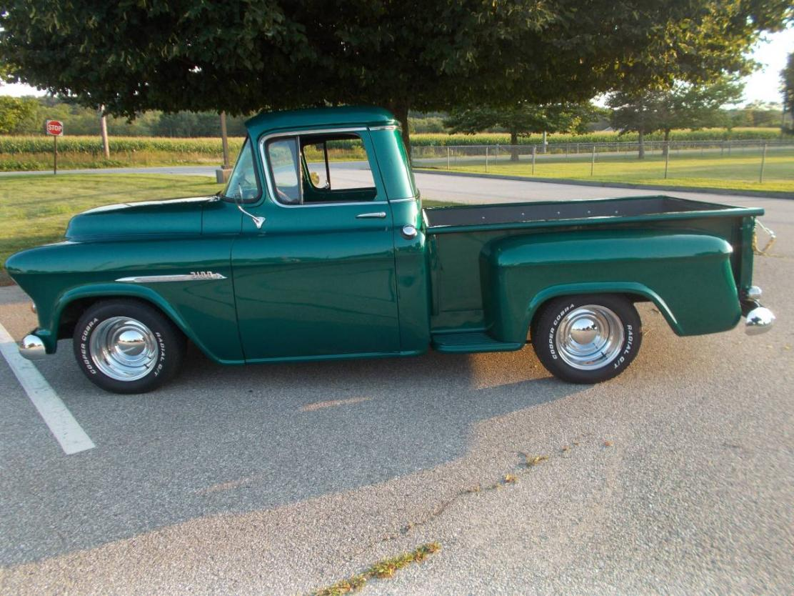 1955 Chevy Truck >> 1955 Chevrolet Truck All Steel Pickup Restored Small Block V8 Truck For Sale In Plainfield Ct 29 900