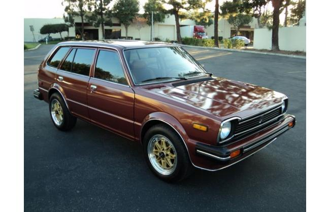 1980 honda civic restored sedan wagon for sale hotrodhotline. Black Bedroom Furniture Sets. Home Design Ideas
