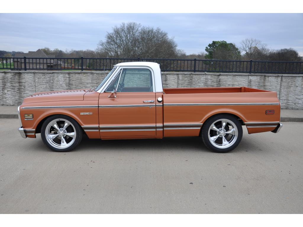 1971 chevrolet c10 pickup pickup small block v8 truck for sale hotrodhotline. Black Bedroom Furniture Sets. Home Design Ideas