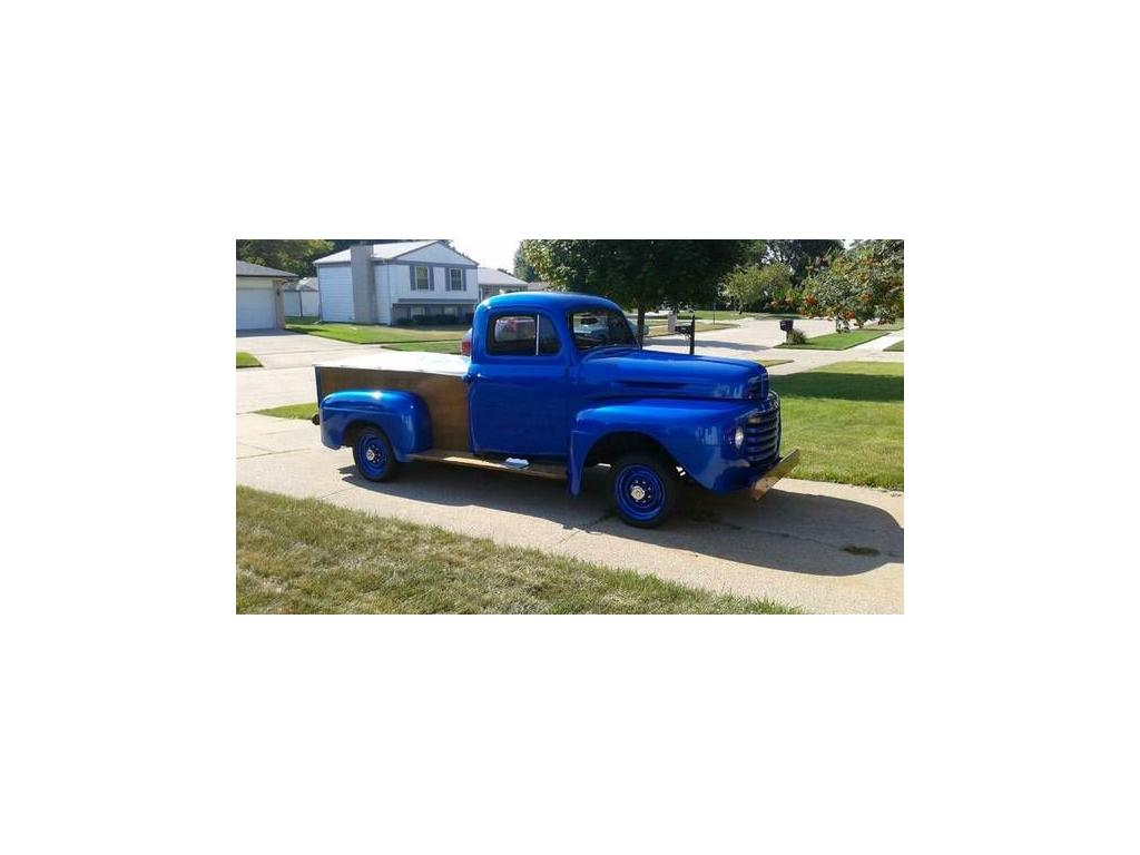 1948 Ford F1 For Sale Hotrodhotline Truck Flathead 6 Return To Ad Image Description
