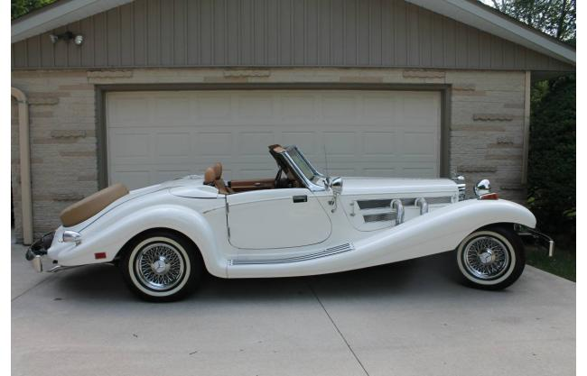 1935 Mercedes-Benz 500 K Convertible Restored Engine Swap for sale in  ELKHART, IN - $29,500