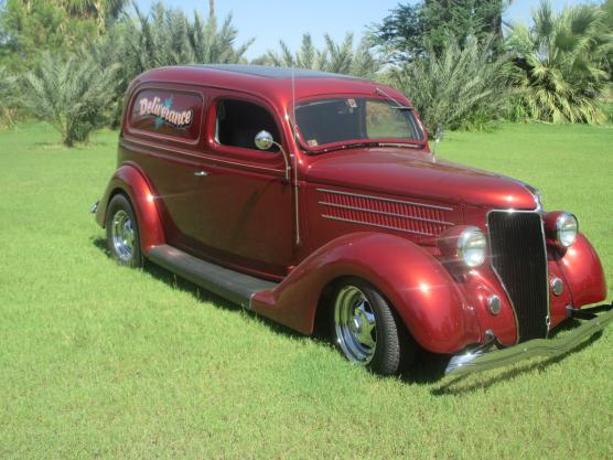 1936 Ford Sedan Delivery 2 Door All Steel For Sale