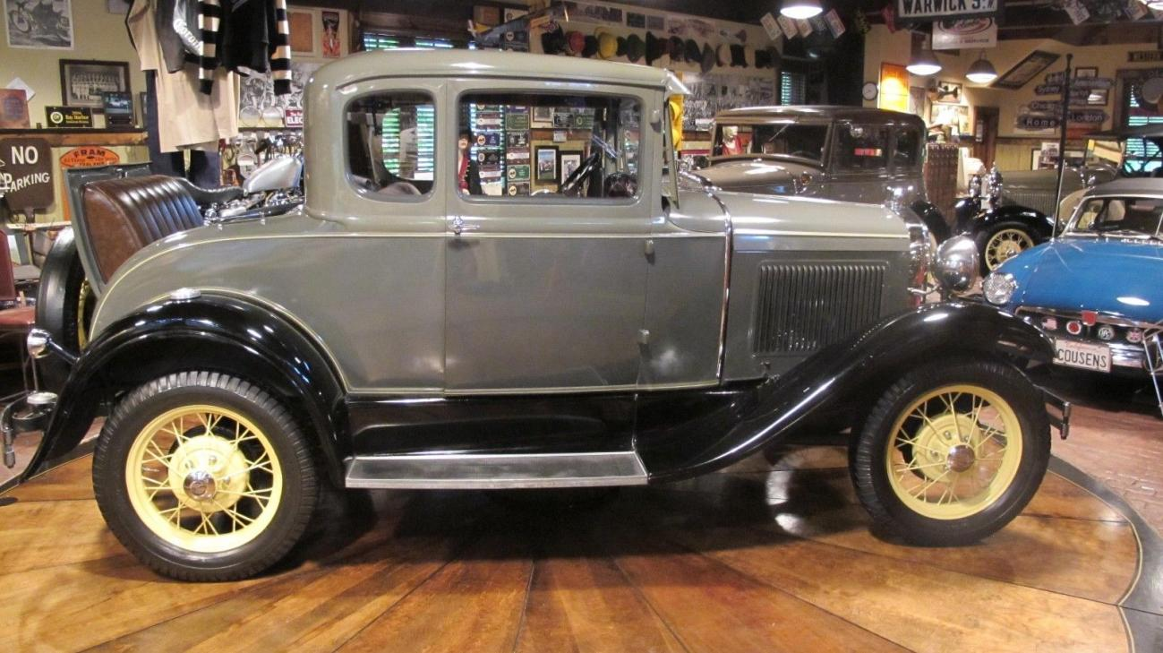 1930 Ford 5 Window All Steel Coupe Original Restored Stock For Sale In Elkhart In 18500