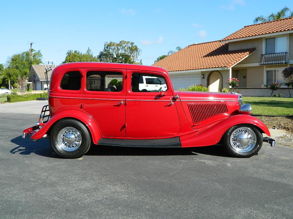 1934 Ford Sedan 4-door All-Steel Restored for sale | Hotrodhotline