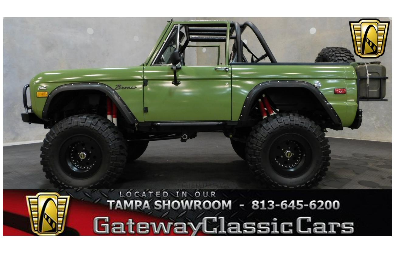 1975 Ford Bronco For Sale Hotrodhotline Painless Wiring Harness Image Description