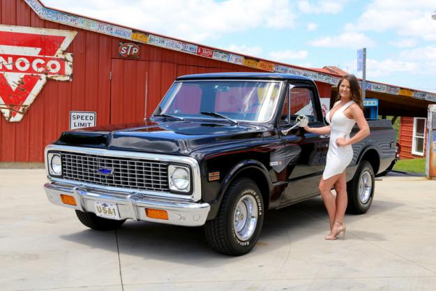 1972 chevrolet c10 pickup for sale hotrodhotline. Black Bedroom Furniture Sets. Home Design Ideas