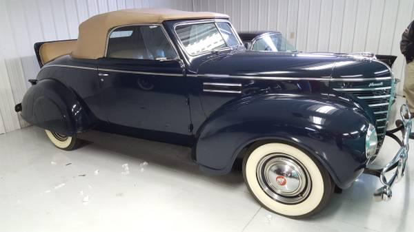 1935 Plymouth Convertible All-Steel Convertible flathead 6 Original  Restored 2-door coupe with rumble seat for sale in ELKHART, IN - $49,995