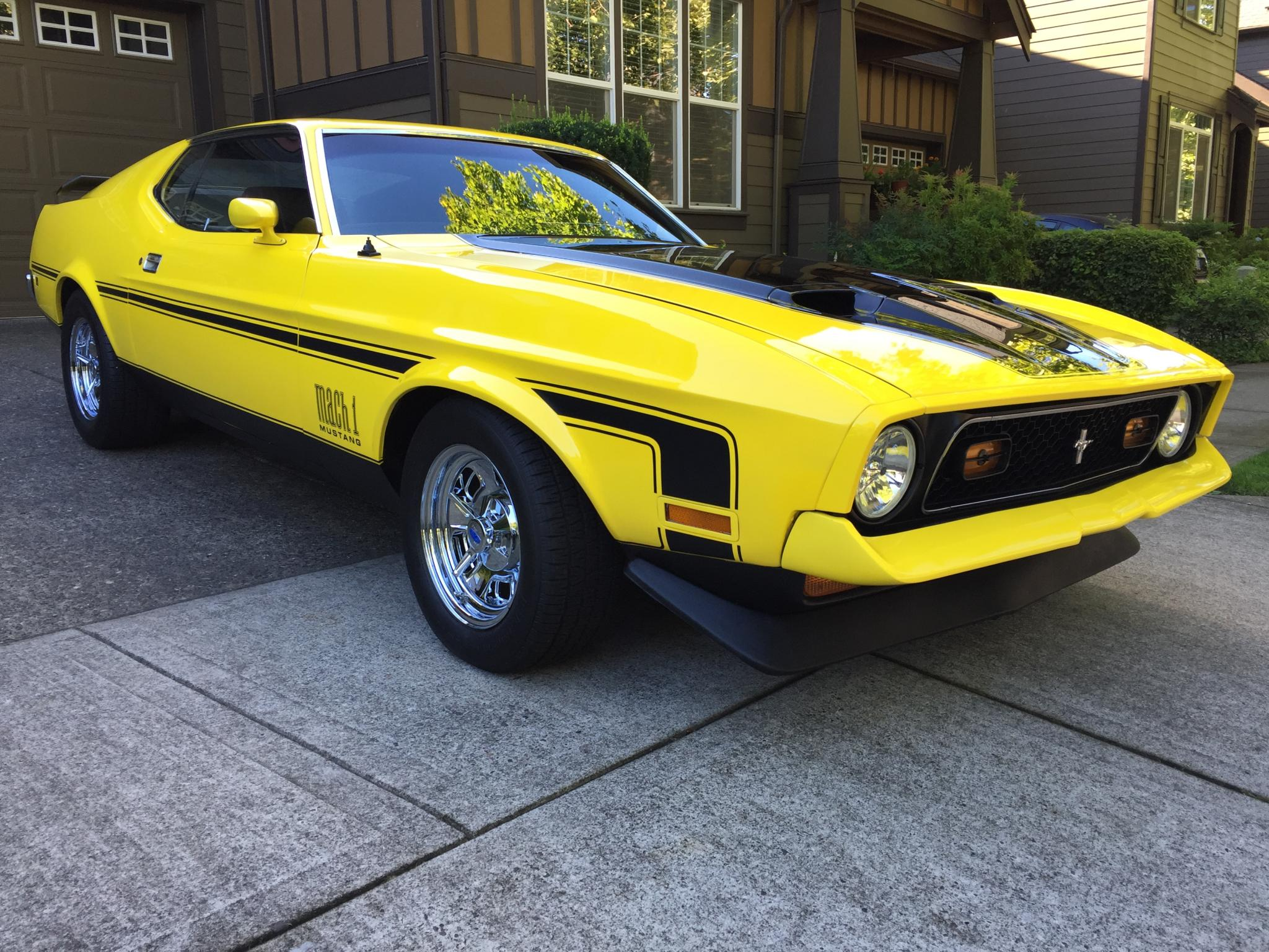 1971 ford mustang fastback mach 1 restored for sale in portland or 25500