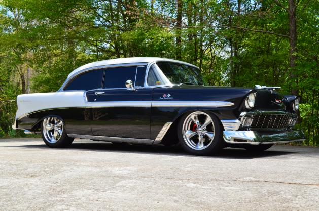 1956 Chevrolet Bel Air Tri Five For Sale Hotrodhotline