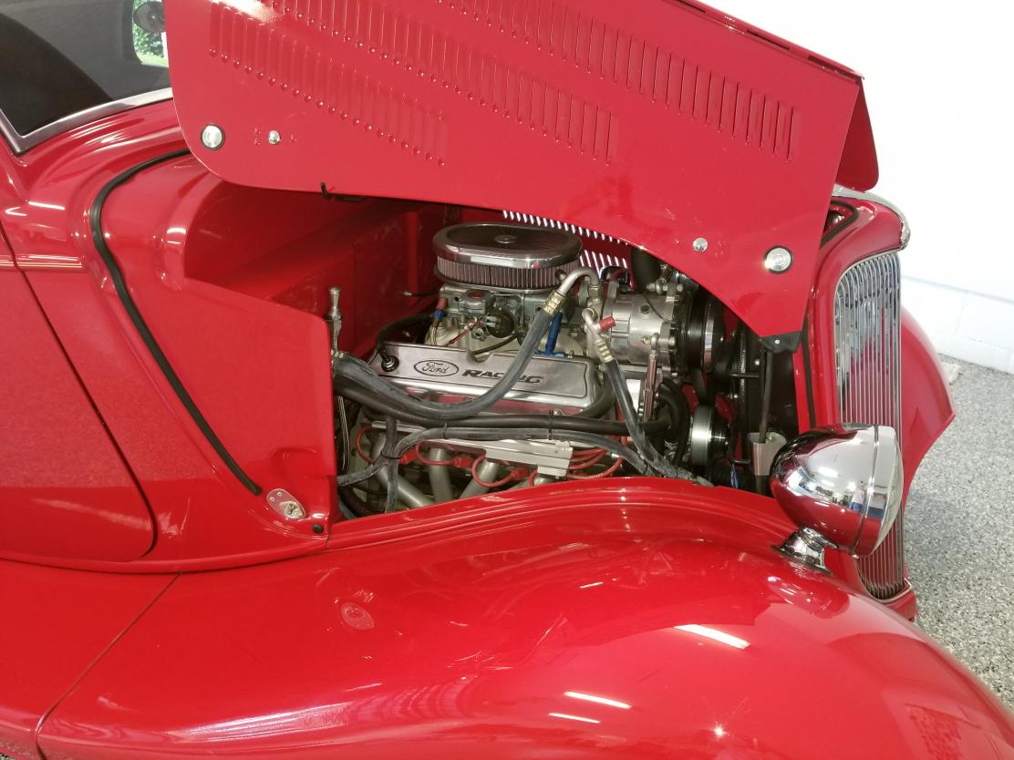 1934 Ford Coupe 3-Window for sale in RIVERVIEW, FL - $48,500