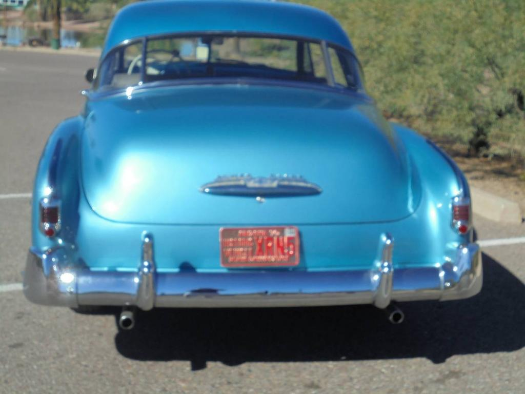 1951 Chevrolet Bel Air 2 Door Hardtop All Steel Original Powerglide Chevy Sedan For Sale Image Description