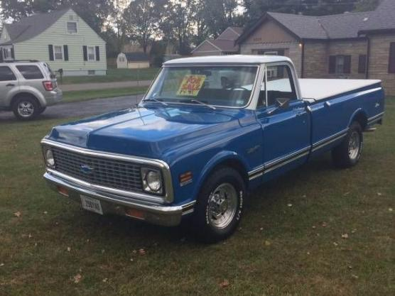 1972 Chevrolet C20 Pickup For Sale In Call For Location Mi 19 995
