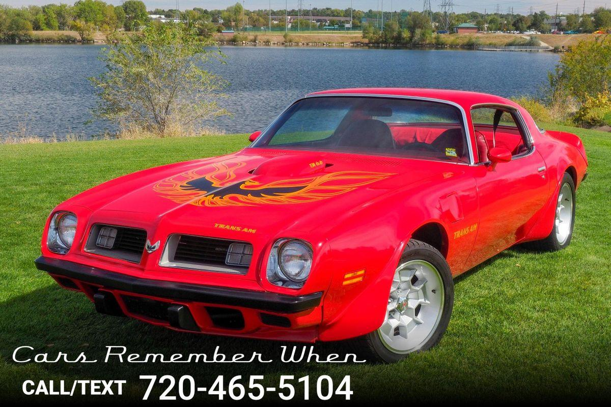 1975 Pontiac Firebird For Sale Hotrodhotline