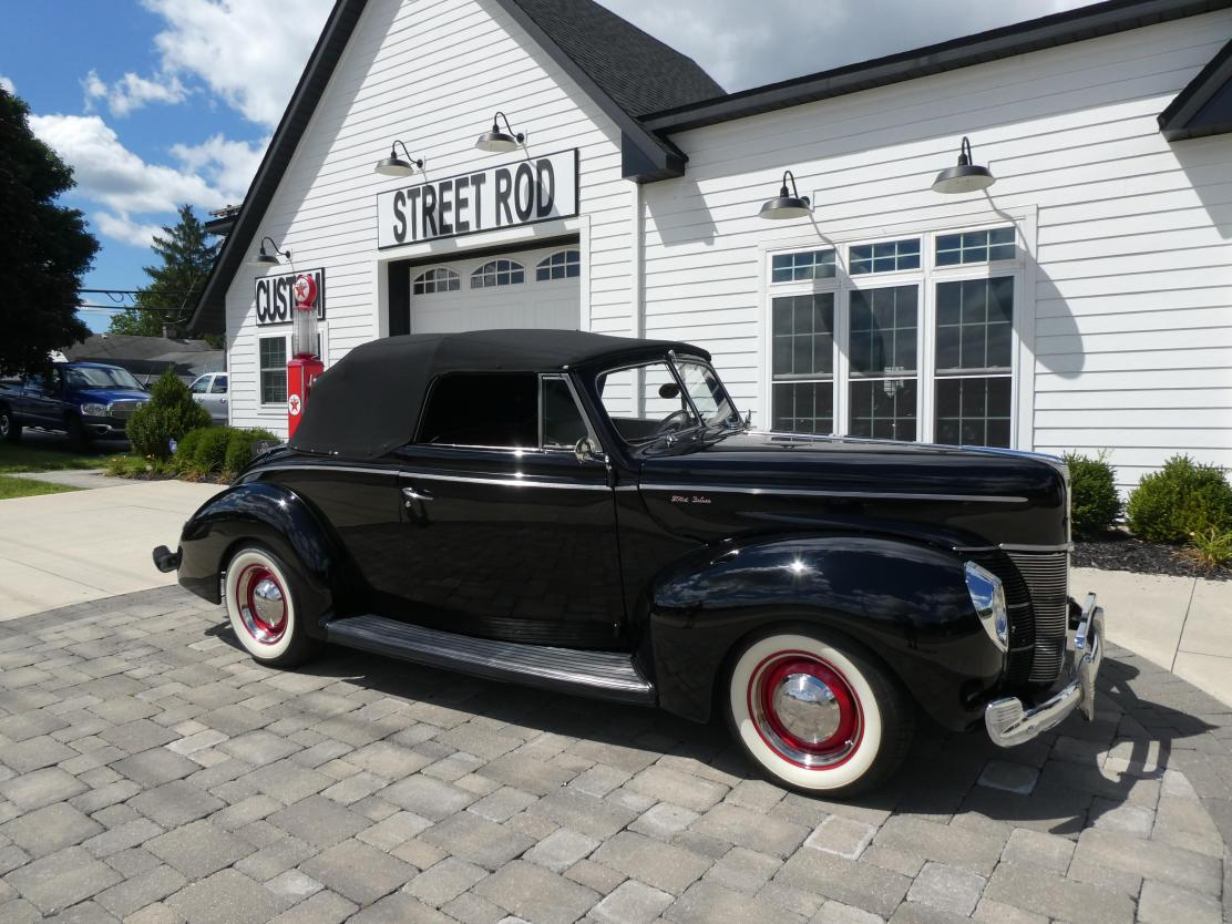 1940 Ford Deluxe All Steel Convertible Deluxe Flathead V8 Original Restored V8 For Sale Hotrodhotline