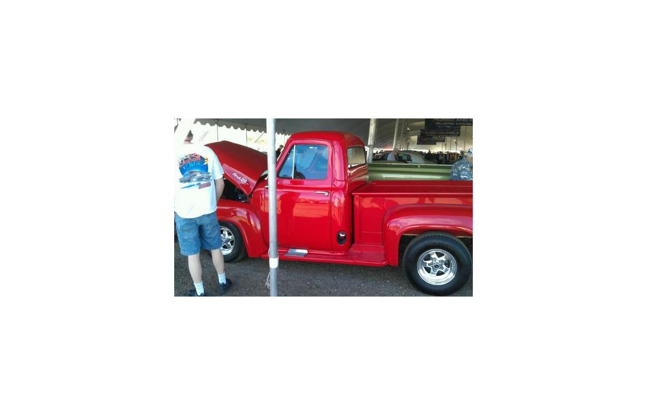 1955 Ford F 100 For Sale Hotrodhotline F100 Specifications Image Description