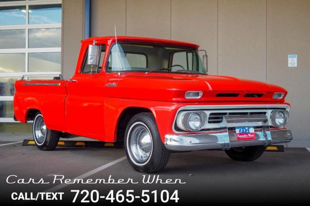 1962 Chevrolet C10 Pickup For Sale Hotrodhotline